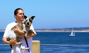 me and little crucy in monterey